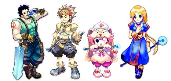 Пиратия персонажи