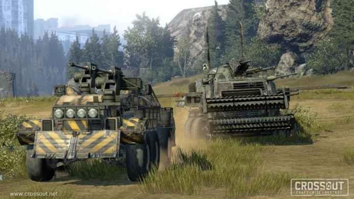 Скриншоты и обои CROSSOUT две боевых машины