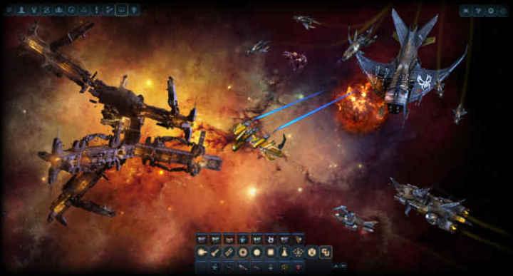 Скриншоты и обои DarkOrbit 3D космос в огне