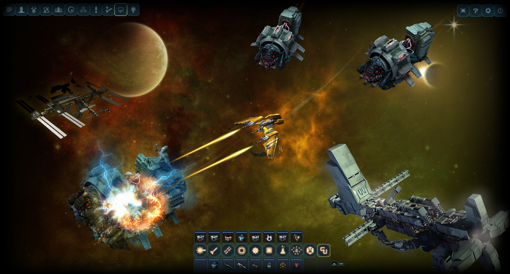 Скриншоты и обои DarkOrbit 3D схватка в космосе