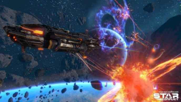 Скриншоты и обои Star Conflict победа