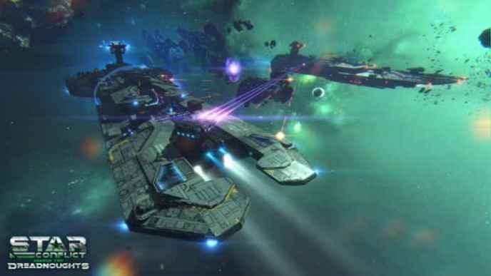 Скриншоты и обои Star Conflict бой эсминцев
