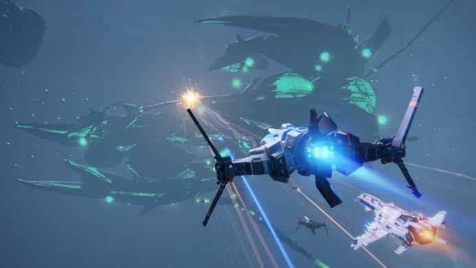 Скриншоты и обои Star Conflict перехватчик