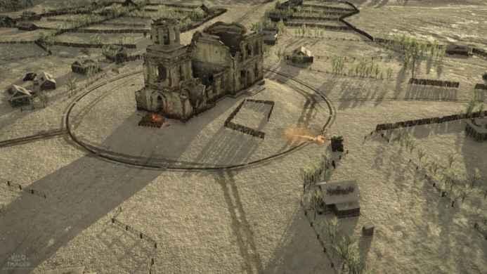 Скриншоты и обои War Thunder битва на суше