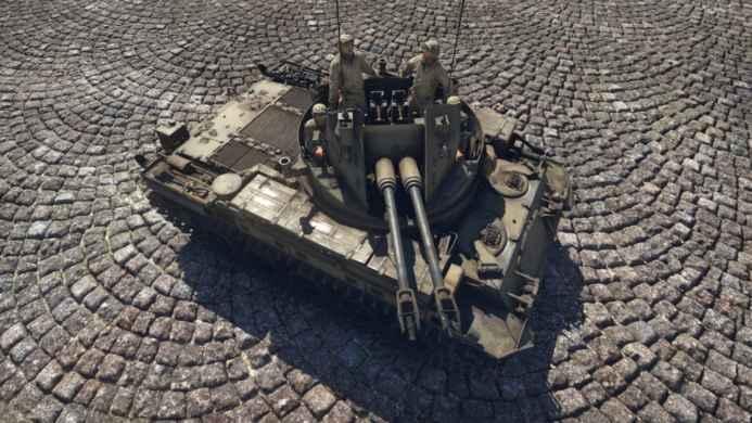 Скриншоты и обои War Thunder танк