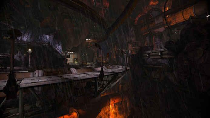 Скриншоты и обои WarFrame мрачное местечко