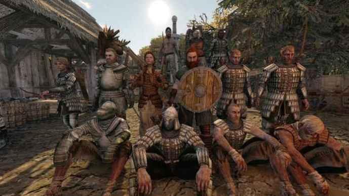 Сделай селфи с членами своей гильдии в Life is feudal
