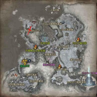 Icarus Райдос на карте Парны