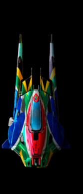 Модель болида Saber в игре гонки онлайн Formula Fusion