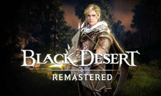 Black Desert клиентская MMORPG