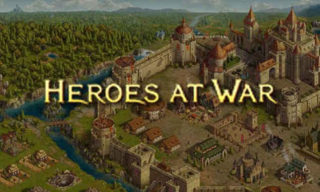 Браузерная онлайн игра Heroes at War