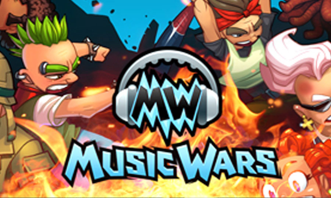 Браузерная онлайн игра Music Wars