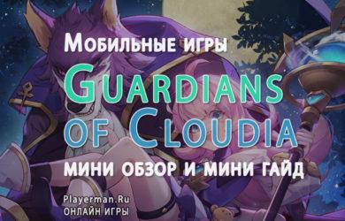 Guardians of Cloudia обзор и мини гайд