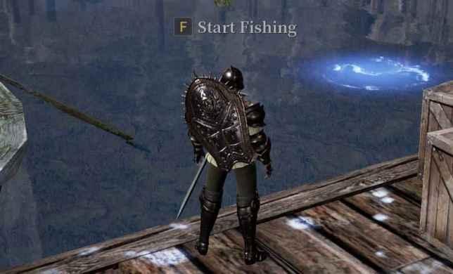 места рыбной ловли в Bless Unleashed